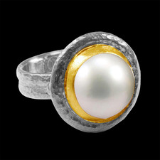 Gurhan White silver and gold Gurhan ring