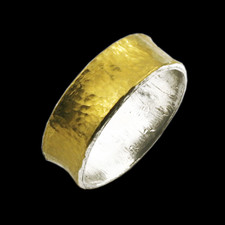 Gurhan sterling silver gold ring