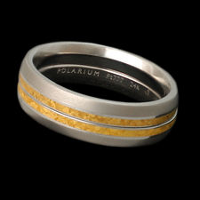 Steven Kretchmer polarium platinum 777 kissing wedding ring
