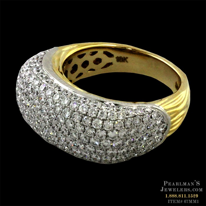 yellow round in p brilliant product cluster diamond rings ring gold cut