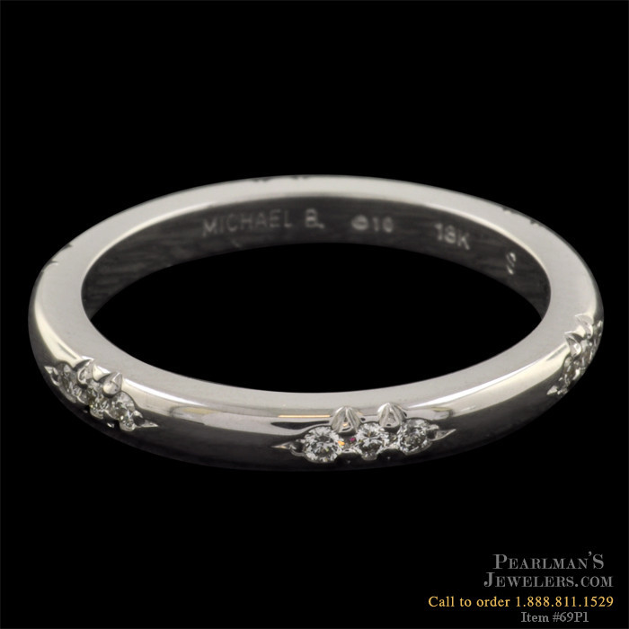 Michael b touch jewelry michael b wedding band for Michael b jewelry death