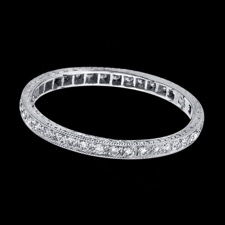 Beverley K 18kt white gold diamond eternity band