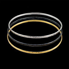 Gurhan 24 karat gold bangle bracelets