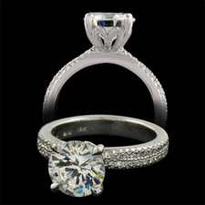 Michael B. Touch Touch collection Engagement ring