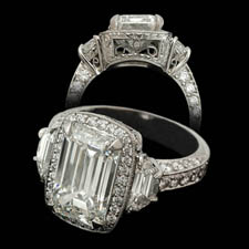 Michael Beaudry 5 carat platinum ring