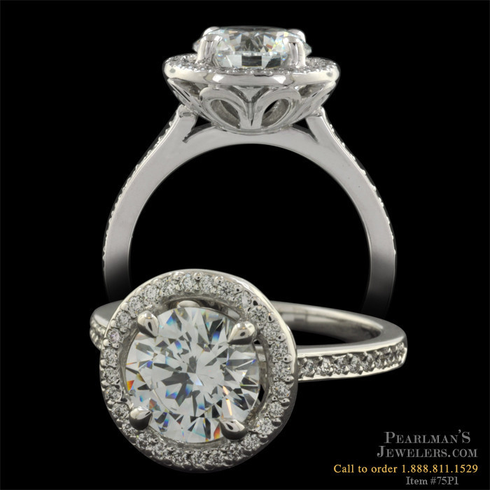 Michael b touch jewelry michael b halo ring for Michael b s jewelry