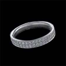 Harout R 18 karat white gold wedding ring by Harout R