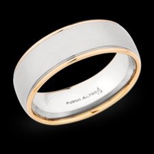 Christian Bauer 18k rose gold mens ring