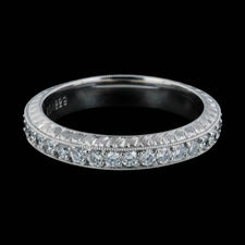 Michael Beaudry Platinum Beaudry eternity wedding band