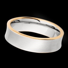 Christian Bauer 18k rose gold gents ring
