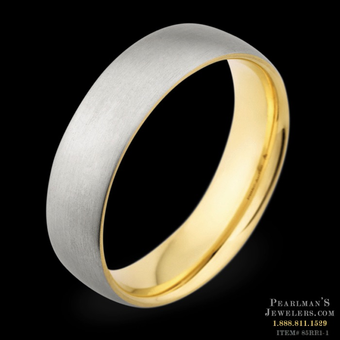 Christian Bauer 18k rose gold inside ring