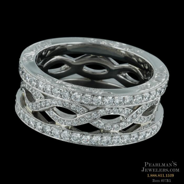 Michael Beaudry Jewelry Platinum Wedding Band