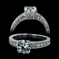 Beverley K 18kt  white gold  engagement ring by Beverly K