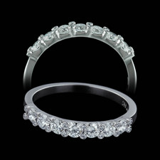 Gumuchian 23 full cut diamond wedding ring
