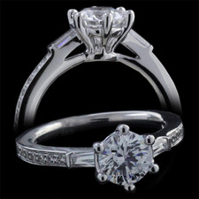 Harout R 18 karat gold engagement ring Harout R